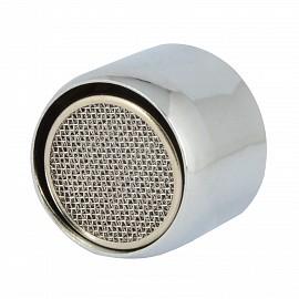 Wassersparstrahlregler 10742, M22, 4 Stück, 6 l/min, verchromt