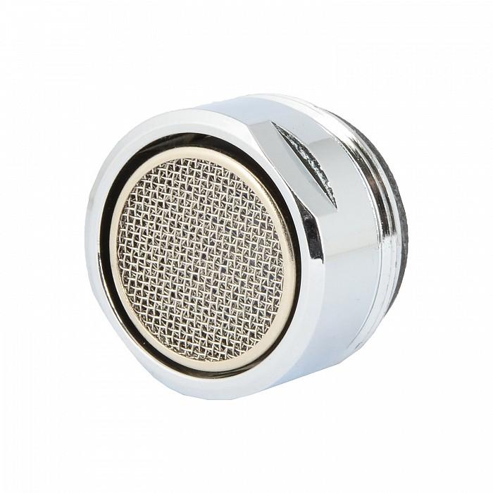 VARIOSAN Wassersparstrahlregler 10735, M24, 4 Stück, 6 l/min, verchromt